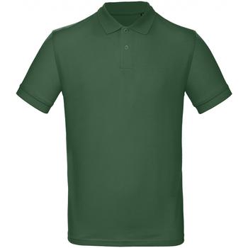 Vêtements Homme Polos manches courtes B And C PM430 Vert bouteille