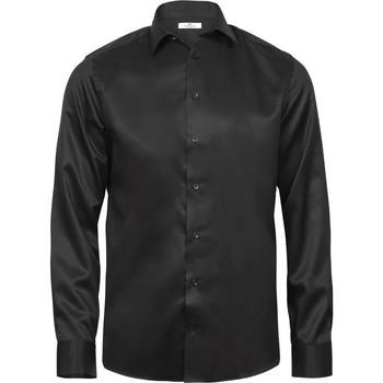 Vêtements Homme Chemises manches longues Tee Jays TJ4020 Noir