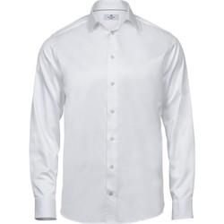 Vêtements Homme Chemises manches longues Tee Jays TJ4020 Blanc