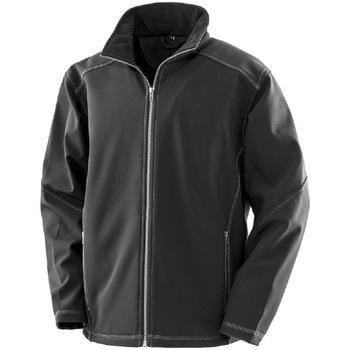Vêtements Homme Vestes Result R455M Noir