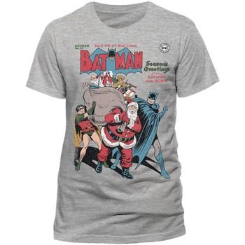 Vêtements T-shirts manches courtes Dessins Animés  Gris