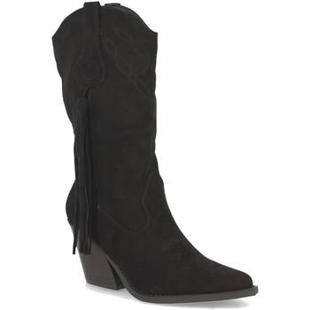 Chaussures Femme Bottes ville Buonarotti 2A-1404 Negro