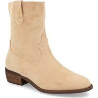 Chaussures Femme Bottines Buonarotti 2A-1496 Beige