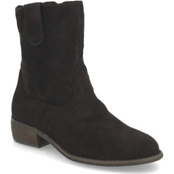Chaussures Femme Bottines Buonarotti 2A-1496 Negro