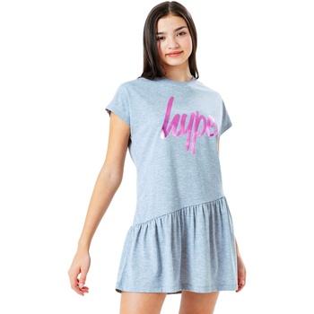 Vêtements Fille Robes courtes Hype  Gris / rose