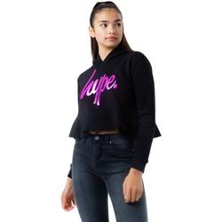 Vêtements Fille Sweats Hype  Noir / rose