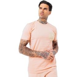 Vêtements Homme T-shirts manches courtes Hype  Rose / crème