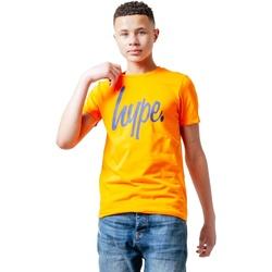 Vêtements Enfant T-shirts manches courtes Hype  Orange / bleu