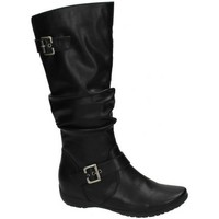 Chaussures Femme Bottes ville Down To Earth  Noir