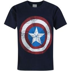 Vêtements Enfant T-shirts manches courtes Avengers  Bleu