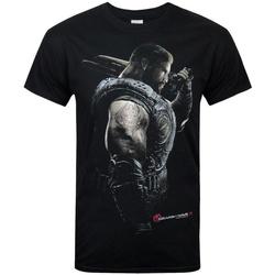 Vêtements Homme T-shirts manches courtes Gears Of War  Noir