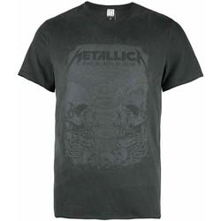 Vêtements Homme T-shirts manches courtes Amplified  Gris