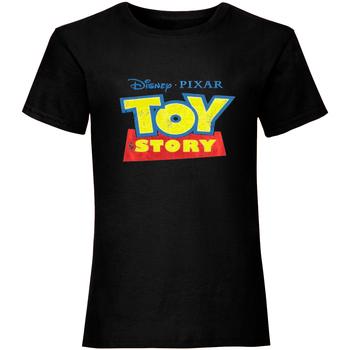 Vêtements Femme T-shirts manches courtes Toy Story  Noir
