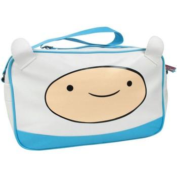 Sacs Enfant Besaces Adventure Time  Blanc / bleu
