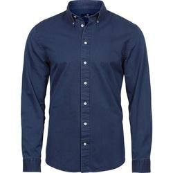 Vêtements Homme Chemises manches longues Tee Jays TJ4002 Indigo
