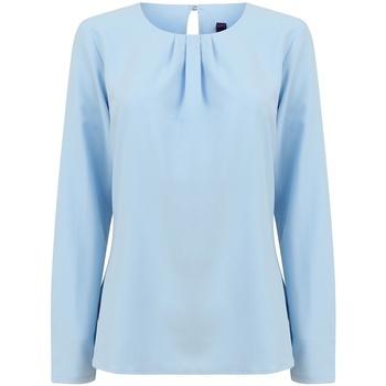 Vêtements Femme T-shirts manches longues Henbury HB598 Bleu clair
