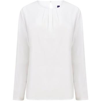 Vêtements Femme T-shirts manches longues Henbury HB598 Blanc