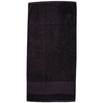 Maison & Déco Serviettes et gants de toilette Towel City PC3890 Noir