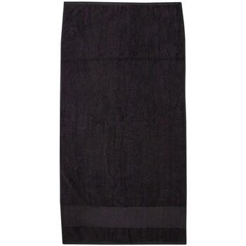 Maison & Déco Serviettes et gants de toilette Towel City PC3891 Noir