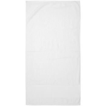 Maison & Déco Serviettes et gants de toilette Towel City PC3891 Blanc