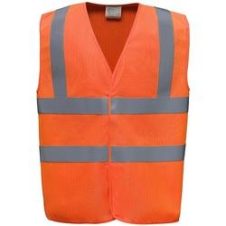 Vêtements Gilets / Cardigans Yoko YK110 Orange