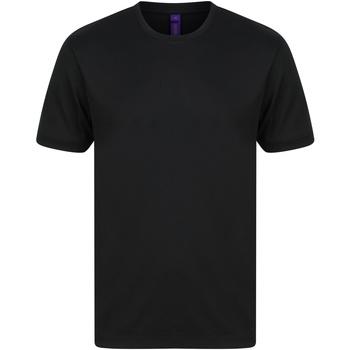Vêtements Homme T-shirts manches courtes Henbury H024 Noir
