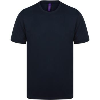 Vêtements Homme T-shirts manches courtes Henbury H024 Bleu marine