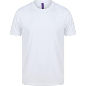Vêtements Homme T-shirts manches courtes Henbury H024 Blanc