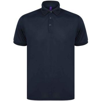 Vêtements Homme Polos manches courtes Henbury H465 Bleu marine
