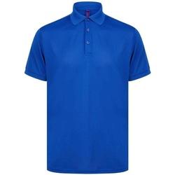 Vêtements Homme Polos manches courtes Henbury H465 Bleu roi