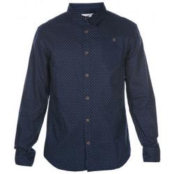 Vêtements Enfant Chemises manches longues Deeluxe Chemise junior TREFOR bleu Bleu