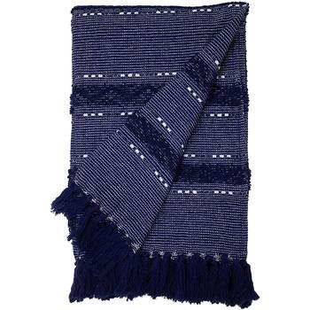 Maison & Déco Couvertures Furn Taille unique Bleu marine