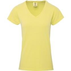 Vêtements Femme T-shirts manches courtes Comfort Colors CO011 Jaune