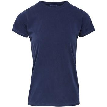 Vêtements Femme T-shirts manches courtes Comfort Colors CO010 Bleu
