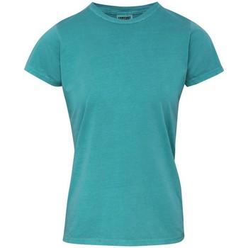 Vêtements Femme T-shirts manches courtes Comfort Colors CO010 Bleu clair