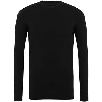 Vêtements Homme T-shirts manches longues Tridri TR016 Noir