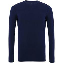 Vêtements Homme T-shirts manches longues Tridri TR016 Bleu marine