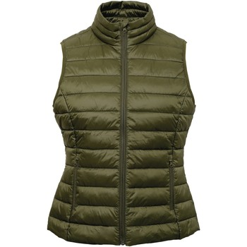 Vêtements Femme Gilets / Cardigans 2786 TS31F Olive
