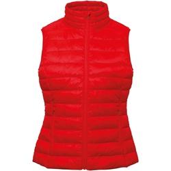 Vêtements Femme Gilets / Cardigans 2786 TS31F Rouge