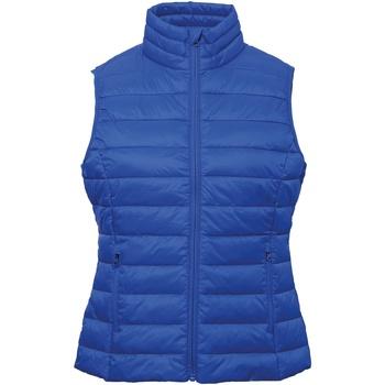 Vêtements Femme Gilets / Cardigans 2786 TS31F Bleu roi