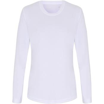 Vêtements Femme T-shirts manches longues Tridri TR060 Blanc