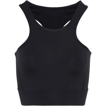 Vêtements Femme Brassières de sport Tridri TR921 Noir