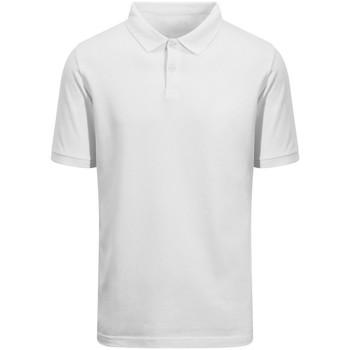 Vêtements Polos manches courtes Awdis EA011 Blanc