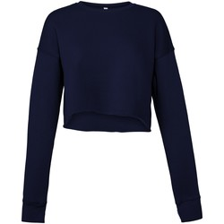 Vêtements Femme Sweats Bella + Canvas BE7503 Bleu marine