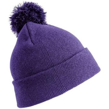 Accessoires textile Enfant Bonnets Result Winter Essentials RC28J Violet