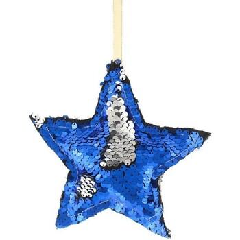 Maison & Déco Décorations de noël Christmas Shop RW7266 Bleu / argent