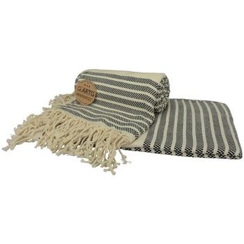Maison & Déco Serviettes de plage A&r Towels Taille unique Noir / crème
