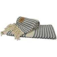 Maison & Déco Serviettes de plage A&r Towels Taille unique Bleu marine / crème