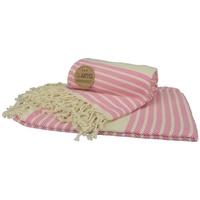 Maison & Déco Serviettes de plage A&r Towels Taille unique Rose / crème