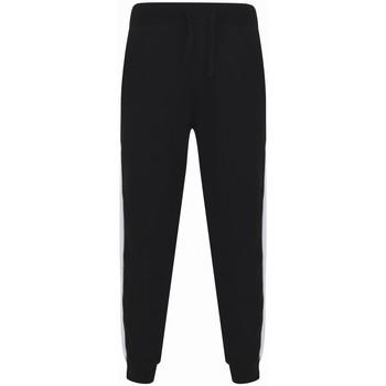 Vêtements Pantalons de survêtement Sf SF423 Noir / blanc